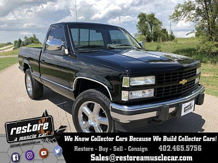 1990 Chevrolet Silverado 1500 4x4 Regular Cab for sale 101003246