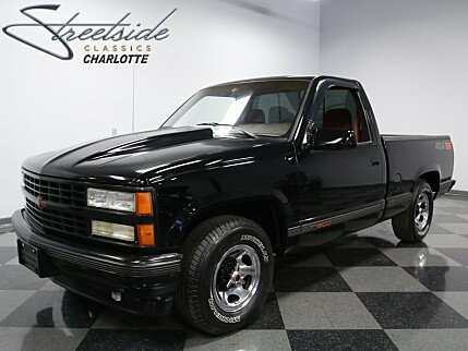 1990 Chevrolet Silverado and other C/K1500 2WD Regular Cab 454 SS for sale 100856444