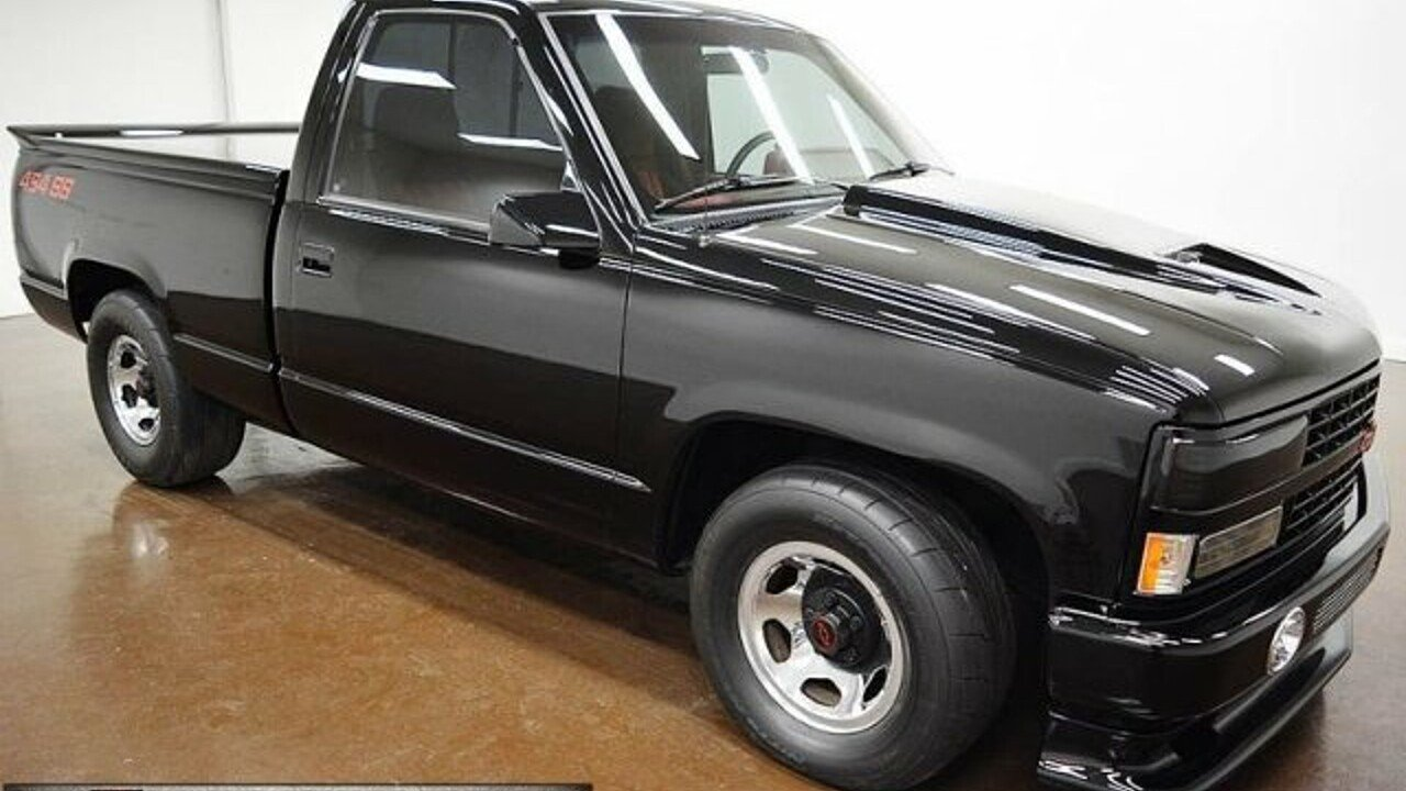 1990 chevrolet silverado and other c k1500 2wd regular cab 454 ss for sale 100868631
