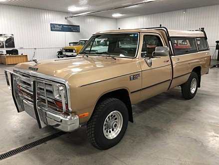 1990 Dodge D/W Truck 4x4 Regular Cab W-250 for sale 100925718