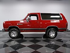 1990 Dodge Ramcharger 4WD for sale 100821627