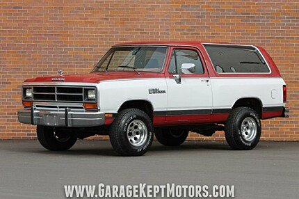 1990 Dodge Ramcharger 4WD for sale 100973698