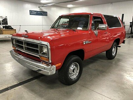 1990 Dodge Ramcharger 4WD for sale 100977184