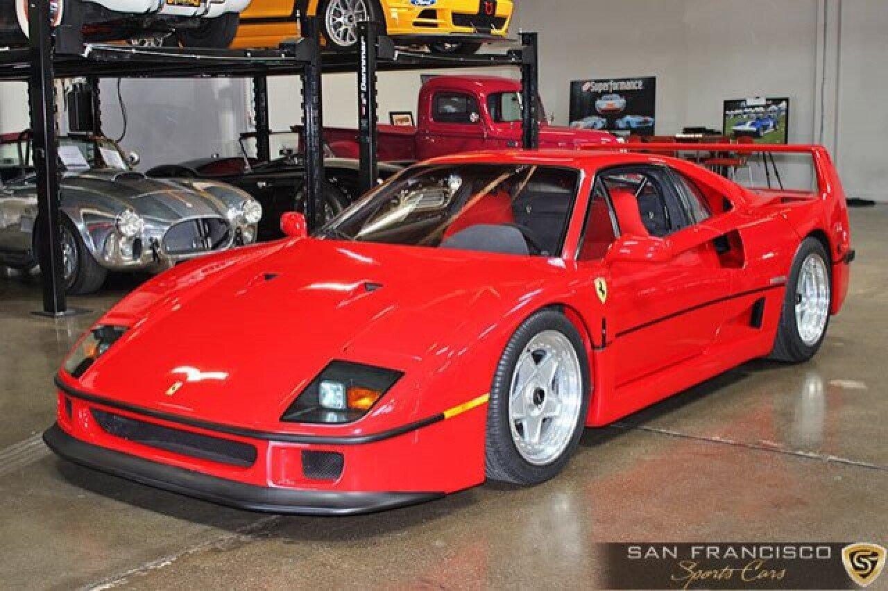 Ferrari F40 For Sale >> 1990 Ferrari F40 For Sale Near San Carlos California 94070