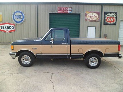 Ford f150 classic trucks for sale classics on autotrader 1990 ford f150 2wd regular cab for sale 100947628 publicscrutiny Images