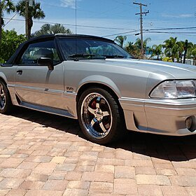 1990 Ford Mustang GT Convertible for sale 100879249