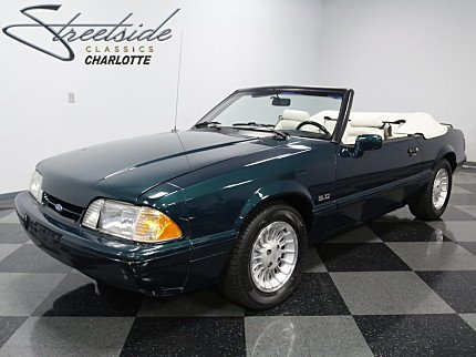 1990 Ford Mustang LX V8 Convertible for sale 100901219
