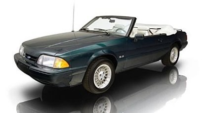 1990 Ford Mustang LX V8 Convertible for sale 100968385