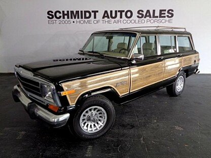 classic jeep grand wagoneers for sale autotrader classics. Black Bedroom Furniture Sets. Home Design Ideas