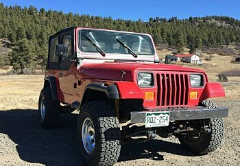1990 Jeep Wrangler for sale 100960312