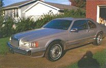 1990 Lincoln Mark VII Bill Blass for sale 100864710