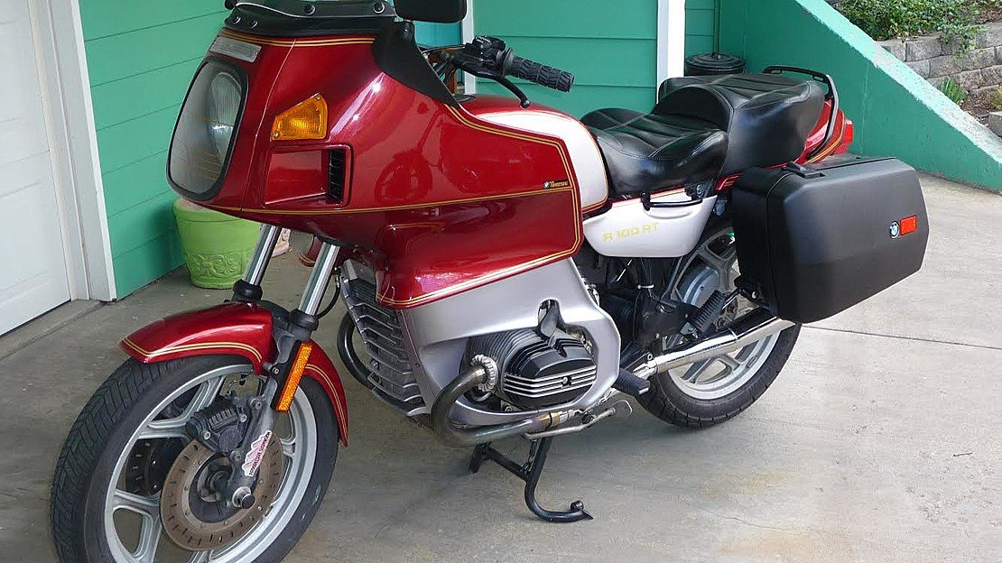 1991 BMW R100RT for sale 200601539
