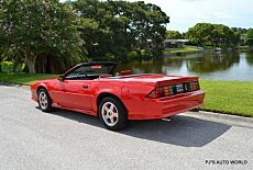 1991 Chevrolet Camaro RS Convertible for sale 101005508