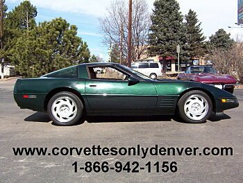 1991 Chevrolet Corvette ZR-1 Coupe for sale 100745617