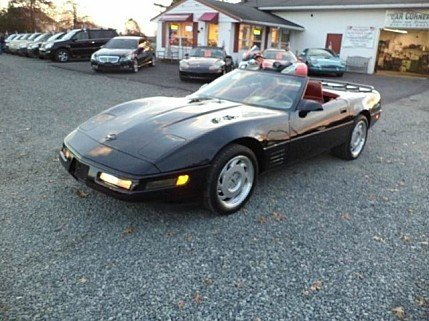 1991 Chevrolet Corvette Convertible for sale 100870141
