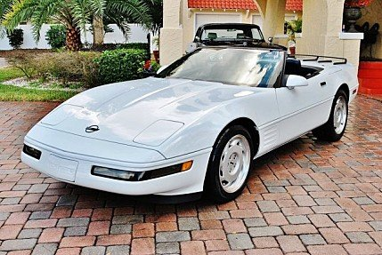 1991 Chevrolet Corvette Convertible for sale 100946753