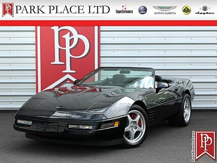 1991 Chevrolet Corvette Convertible for sale 101025675