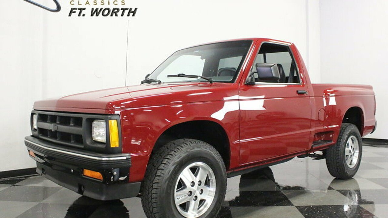 1991 Chevrolet S10 Pickup for sale 100871848