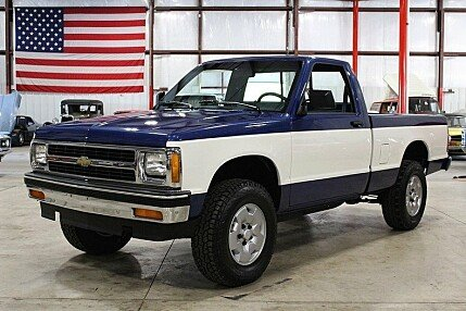 1991 Chevrolet S10 Pickup 4x4 Regular Cab for sale 100872562