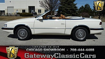 1991 Chrysler TC by Maserati for sale 100969760