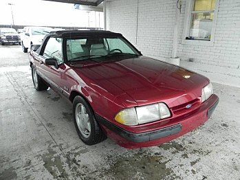 1991 Ford Mustang LX V8 Convertible for sale 100784884