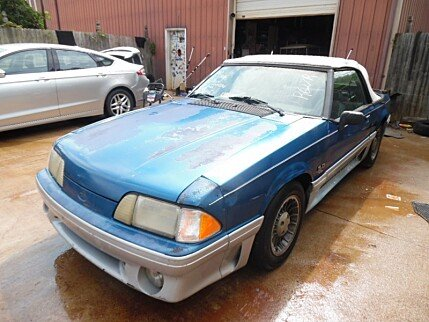 1991 Ford Mustang GT Convertible for sale 100290731