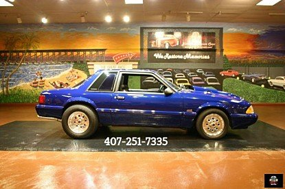 1991 Ford Mustang LX V8 Coupe for sale 100890675