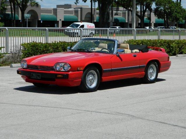 Superb 1991 Jaguar XJS V12 Convertible For Sale 100883420