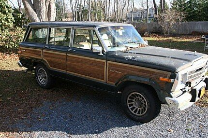 1991 jeep grand wagoneer for sale 100835638. Cars Review. Best American Auto & Cars Review