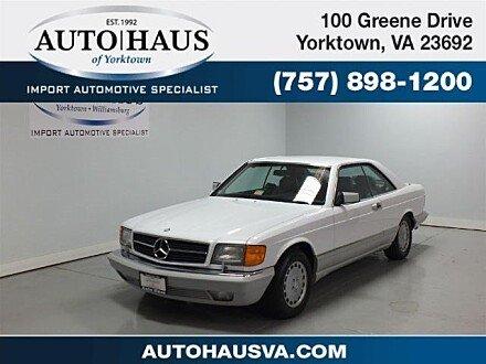 1991 Mercedes-Benz 560SEC for sale 100886861