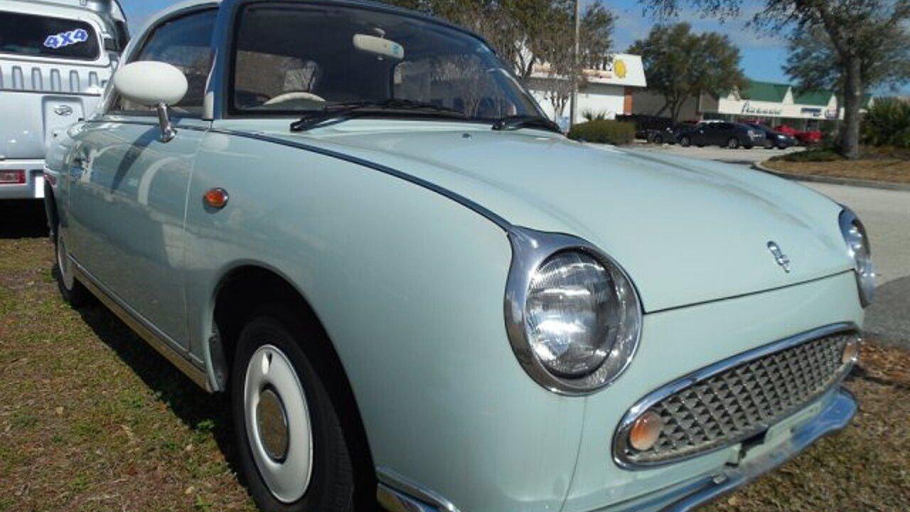 1991 Nissan Figaro for sale near Jacksonville, Florida 32250 ...