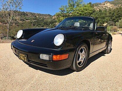 1991 Porsche 911 Cabriolet for sale 100916563