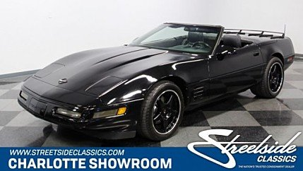 1991 chevrolet Corvette for sale 100978134