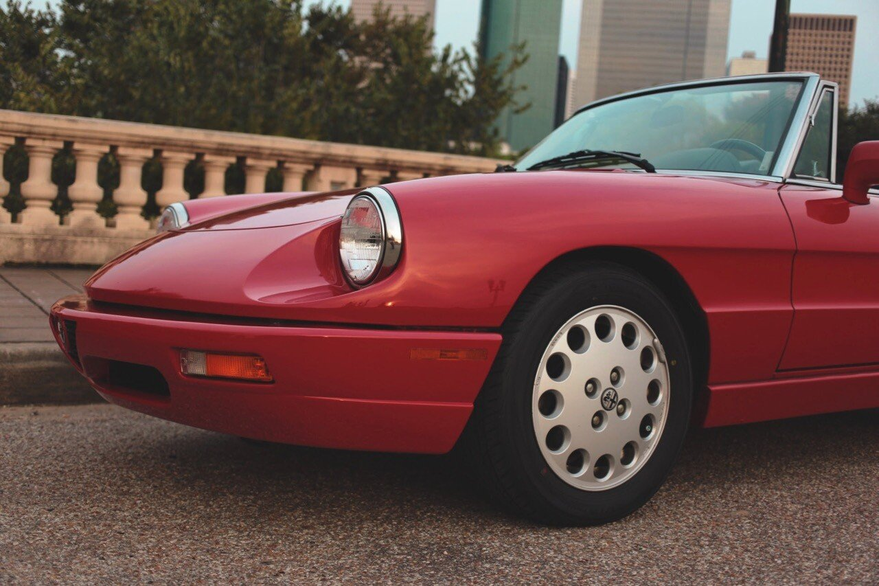 1992 alfa romeo spider veloce for  near houston, texas 77008