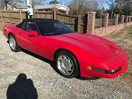 1992 Chevrolet Corvette Convertible for sale 100958091