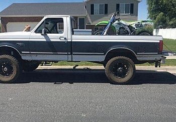 1992 Ford F250 4x4 Regular Cab for sale 100906189