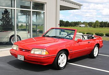 1992 Ford Mustang LX V8 Convertible for sale 100727740