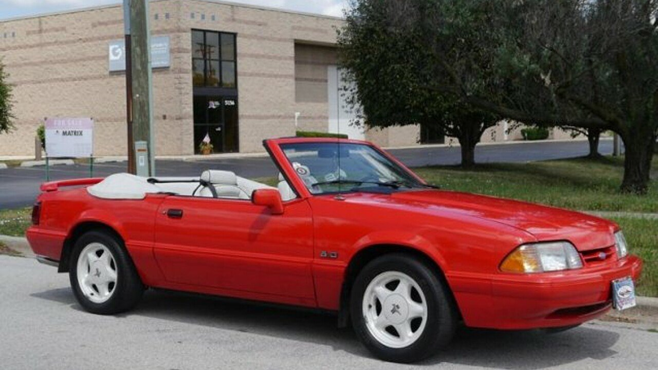 1992 Ford Mustang LX V8 Convertible for sale 100898047