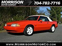 1992 Ford Mustang LX V8 Convertible for sale 100926246