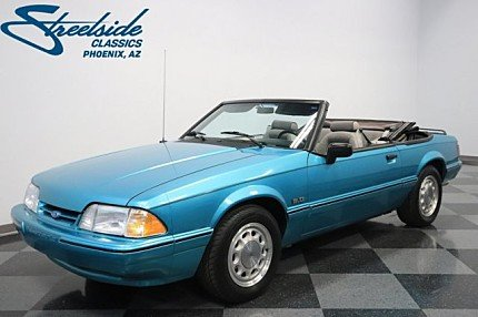 1992 Ford Mustang LX V8 Convertible for sale 100946441