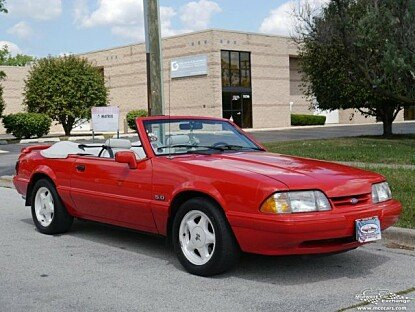 1992 Ford Mustang LX V8 Convertible for sale 100956383