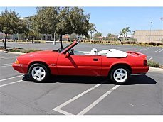 1992 Ford Mustang LX V8 Convertible for sale 100972545