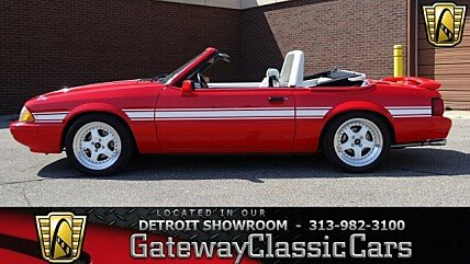1992 Ford Mustang LX V8 Convertible for sale 100977214