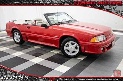 1992 Ford Mustang GT Convertible for sale 101003581