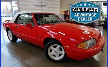 1992 Ford Mustang LX V8 Convertible for sale 101030600
