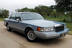 1992 Lincoln Town Car Signature for sale 101046642