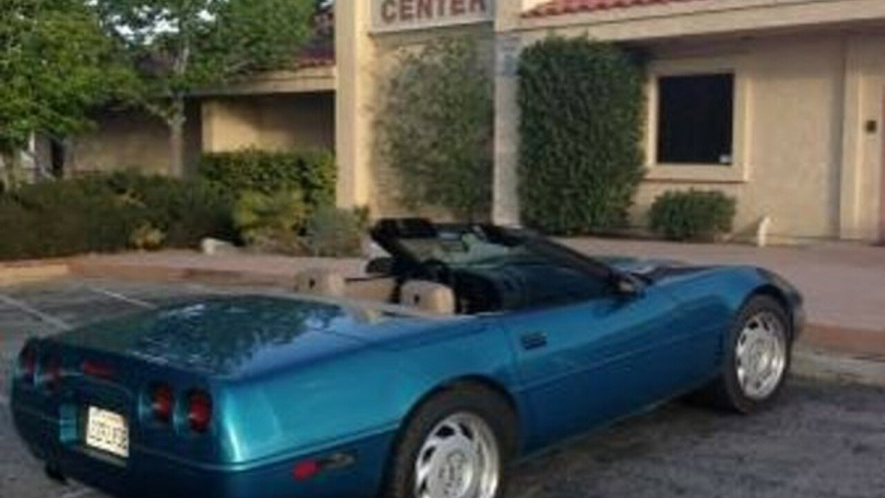 1992 chevrolet Corvette for sale 101025342