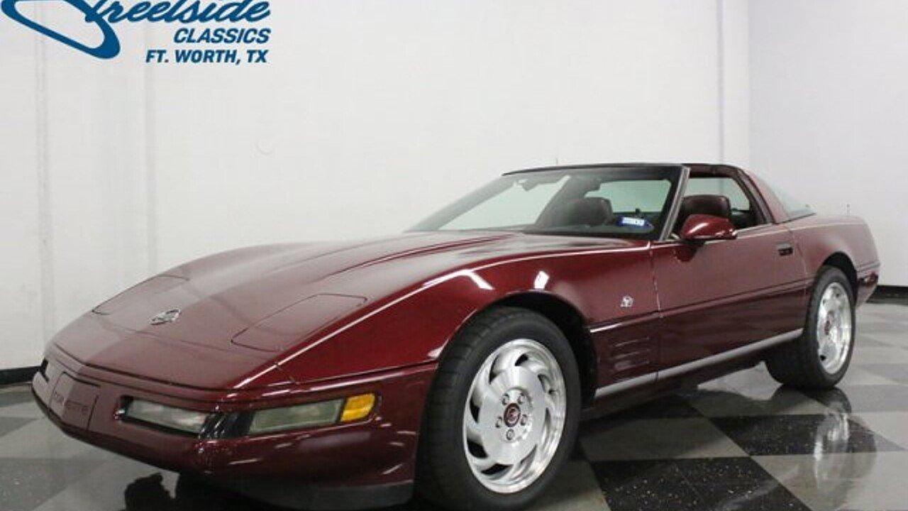 1993 Chevrolet Corvette for sale near Fort Worth, Texas 76137 ...