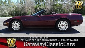 1993 Chevrolet Corvette Convertible for sale 100970975