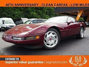 1993 Chevrolet Corvette Coupe for sale 101024508